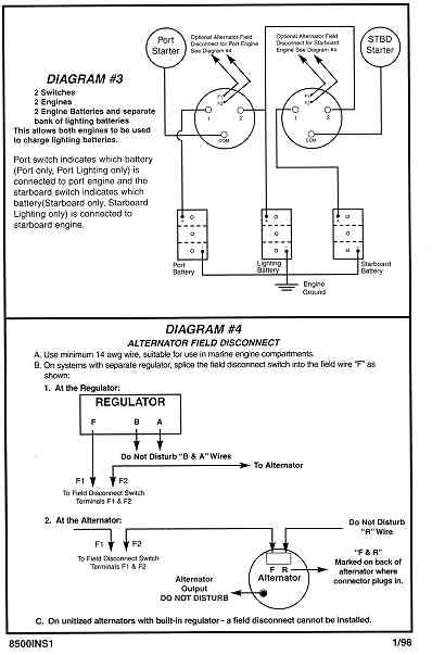 battery switch diagrams